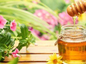 Мед и зелень