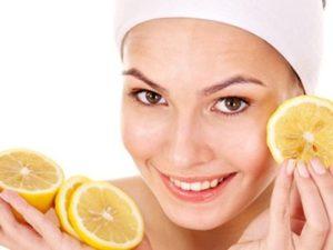Маски на основе лимона