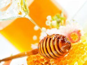 Маска для глаз с медом