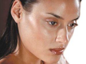 Жирная кожа на лице