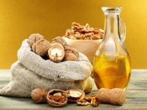 Рецепты масок с маслом грецкого ореха