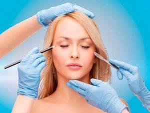 Проведение процедуры блефаропластики