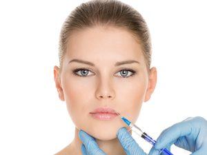 Инъекция в кожу вокруг губ
