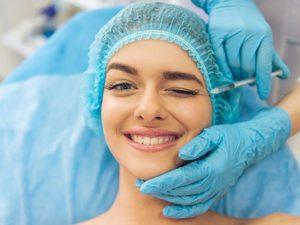 Инъекция в кожу вокруг глаз