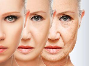 Три лица разного возраста