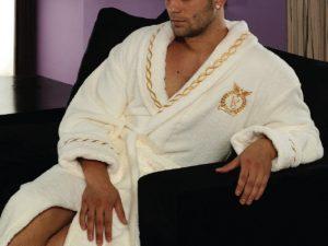 Как выбрать мужской махровый халат